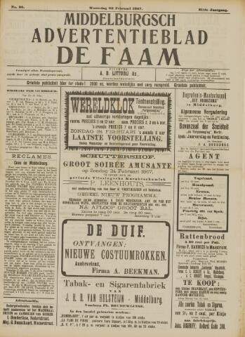 de Faam en de Faam/de Vlissinger 1907-02-20
