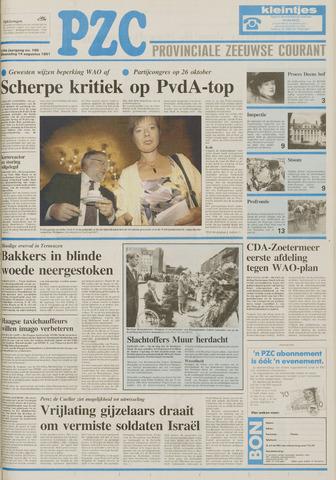 Provinciale Zeeuwse Courant 1991-08-14