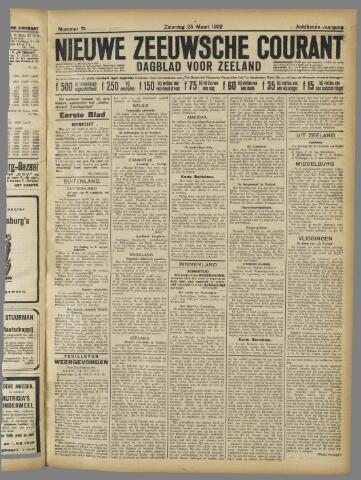 Nieuwe Zeeuwsche Courant 1922-03-25