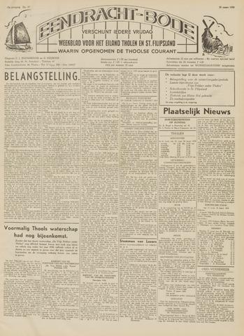 Eendrachtbode (1945-heden)/Mededeelingenblad voor het eiland Tholen (1944/45) 1959-03-20