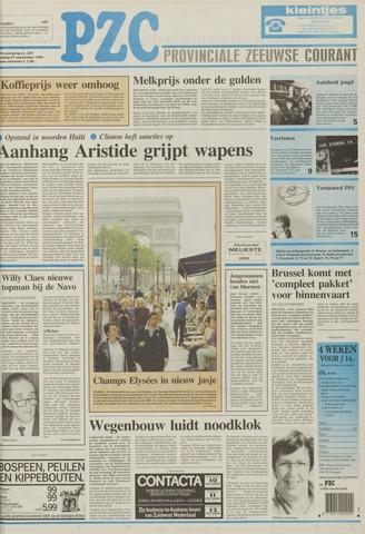 Provinciale Zeeuwse Courant 1994-09-27