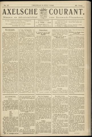 Axelsche Courant 1926-07-09