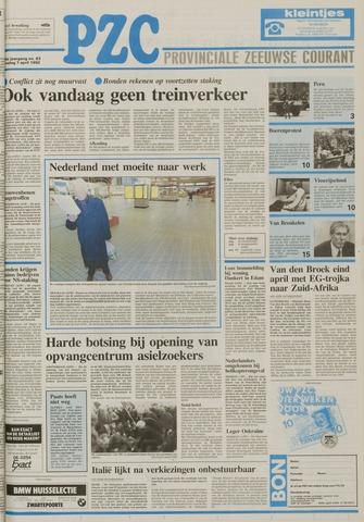 Provinciale Zeeuwse Courant 1992-04-07