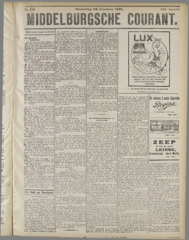 Middelburgsche Courant 1921-10-24