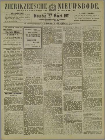 Zierikzeesche Nieuwsbode 1911-03-27