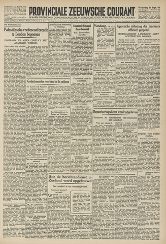Provinciale Zeeuwse Courant 1946-09-11