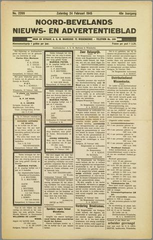 Noord-Bevelands Nieuws- en advertentieblad 1945-02-24