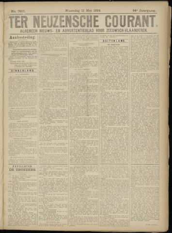Ter Neuzensche Courant. Algemeen Nieuws- en Advertentieblad voor Zeeuwsch-Vlaanderen / Neuzensche Courant ... (idem) / (Algemeen) nieuws en advertentieblad voor Zeeuwsch-Vlaanderen 1924-05-12