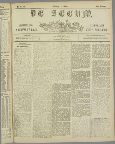 De Zeeuw. Christelijk-historisch nieuwsblad voor Zeeland 1897-03-04