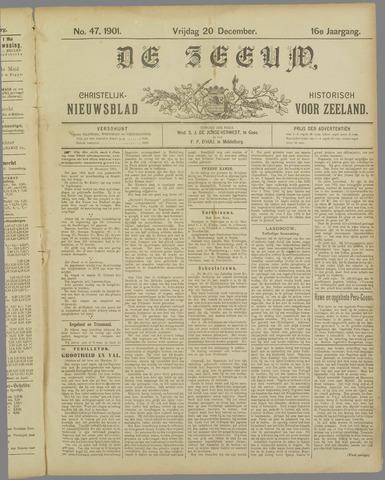 De Zeeuw. Christelijk-historisch nieuwsblad voor Zeeland 1901-12-20