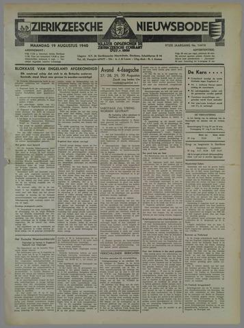 Zierikzeesche Nieuwsbode 1940-08-19