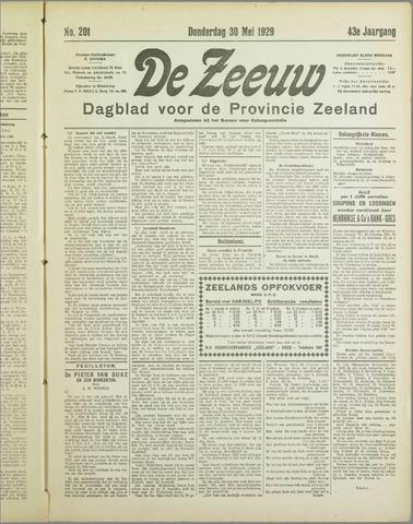 De Zeeuw. Christelijk-historisch nieuwsblad voor Zeeland 1929-05-30