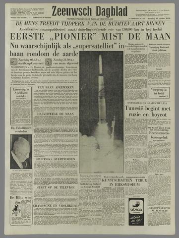 Zeeuwsch Dagblad 1958-10-13