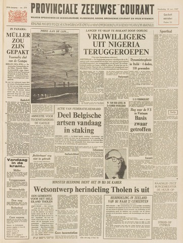 Provinciale Zeeuwse Courant 1967-11-16