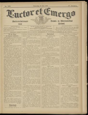 Luctor et Emergo. Antirevolutionair nieuws- en advertentieblad voor Zeeland / Zeeuwsch-Vlaanderen. Orgaan ter verspreiding van de christelijke beginselen in Zeeuwsch-Vlaanderen 1917-05-12