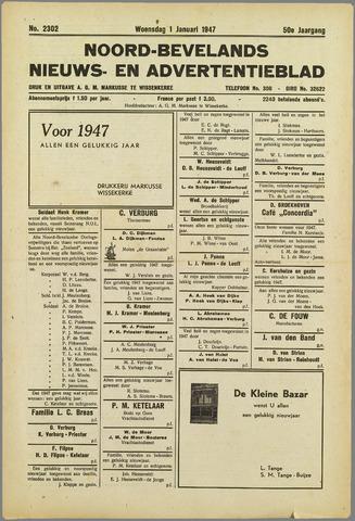 Noord-Bevelands Nieuws- en advertentieblad 1947
