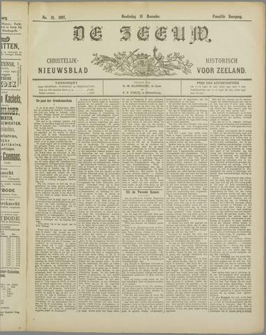 De Zeeuw. Christelijk-historisch nieuwsblad voor Zeeland 1897-11-18