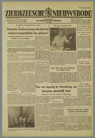 Zierikzeesche Nieuwsbode 1959-11-10