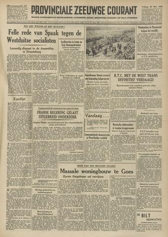 Provinciale Zeeuwse Courant 1952-05-30