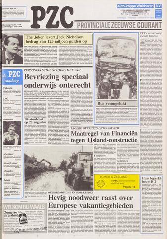 Provinciale Zeeuwse Courant 1989-07-27