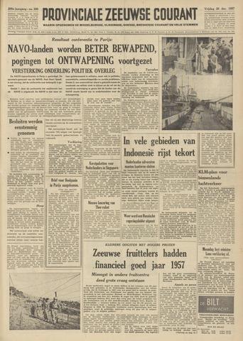 Provinciale Zeeuwse Courant 1957-12-20