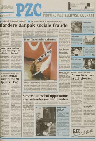 Provinciale Zeeuwse Courant 1992-02-11