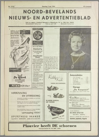 Noord-Bevelands Nieuws- en advertentieblad 1964-05-02
