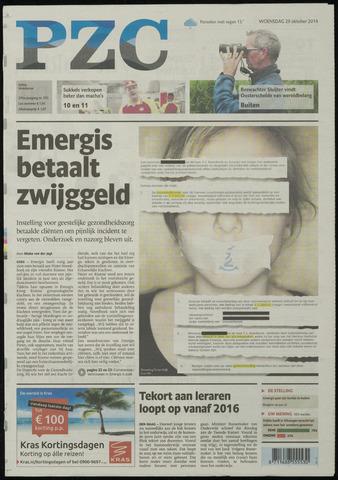 Provinciale Zeeuwse Courant 2014-10-29