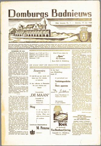 Domburgsch Badnieuws 1948