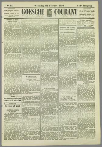 Goessche Courant 1932-02-24