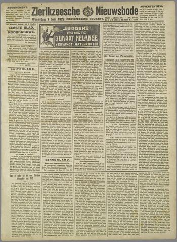 Zierikzeesche Nieuwsbode 1922-06-07