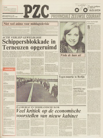 Provinciale Zeeuwse Courant 1981-08-12