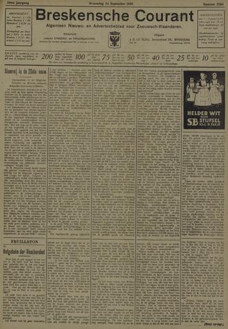 Breskensche Courant 1930-09-24
