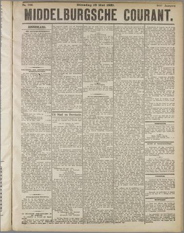 Middelburgsche Courant 1921-05-10