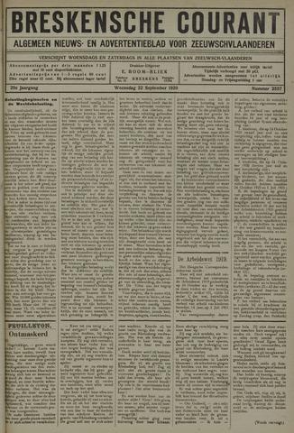 Breskensche Courant 1920-09-22