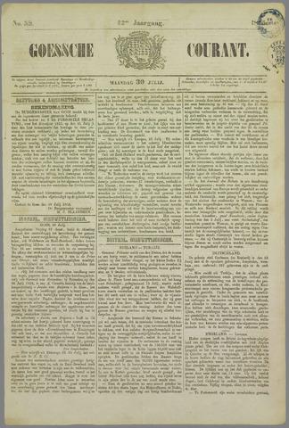 Goessche Courant 1855-07-30