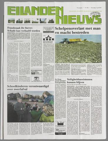 Eilanden-nieuws. Christelijk streekblad op gereformeerde grondslag 2007-04-11