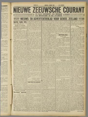 Nieuwe Zeeuwsche Courant 1927-03-01