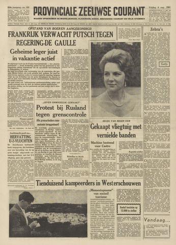 Provinciale Zeeuwse Courant 1961-08-04