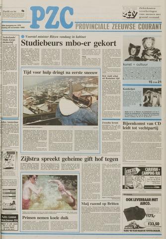 Provinciale Zeeuwse Courant 1992-11-20