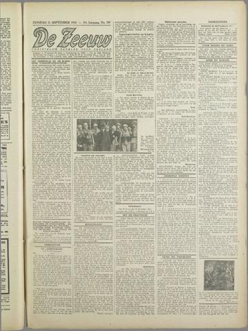 De Zeeuw. Christelijk-historisch nieuwsblad voor Zeeland 1943-09-21