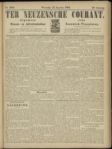 Ter Neuzensche Courant. Algemeen Nieuws- en Advertentieblad voor Zeeuwsch-Vlaanderen / Neuzensche Courant ... (idem) / (Algemeen) nieuws en advertentieblad voor Zeeuwsch-Vlaanderen 1894-08-22