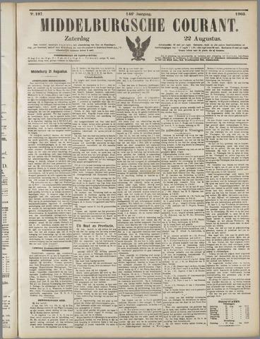 Middelburgsche Courant 1903-08-22