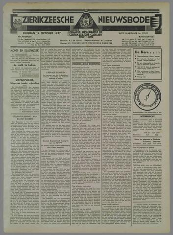 Zierikzeesche Nieuwsbode 1937-10-19