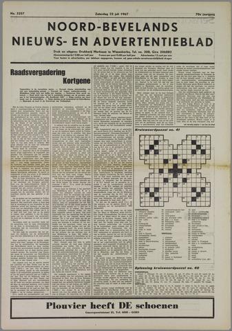 Noord-Bevelands Nieuws- en advertentieblad 1967-07-22