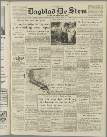 de Stem 1956-02-08