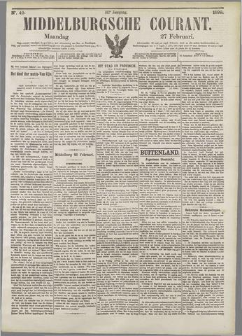Middelburgsche Courant 1899-02-27