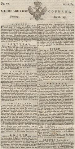 Middelburgsche Courant 1764-07-28