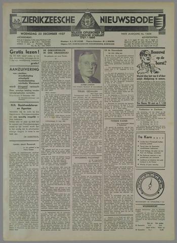 Zierikzeesche Nieuwsbode 1937-12-22