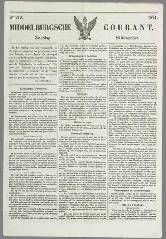 Middelburgsche Courant 1871-11-25
